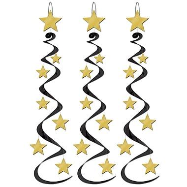 Tourbillons étoiles, 30 pi, paquet de 9