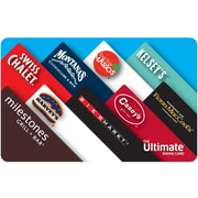 The Ultimate Dining Card Gift Cards