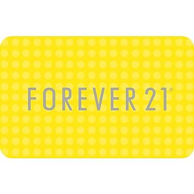 Forever 21, cartes-cadeaux