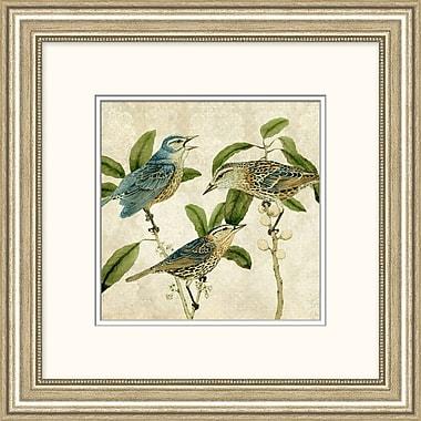 Blue Birds Framed Art, 20