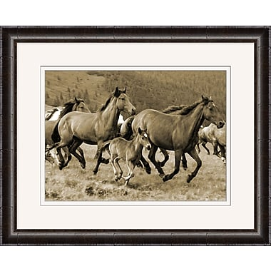 Galloping Horses Framed Art, 32