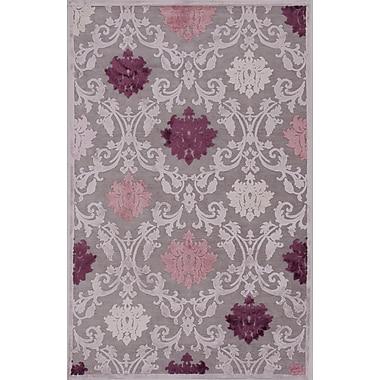Jaipur Fables Floral Area Rug Art Silk & Chenille