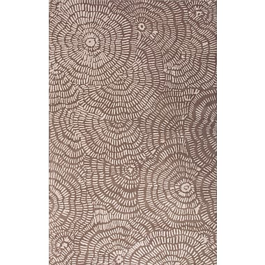Jaipur Hand Tufted Floral Pattern Area Rug Wool 2' x 3'