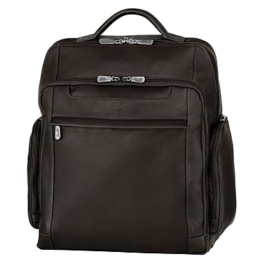"Mancini Leather Backpacks for 15.6"" Laptop Computer, 13.5""x 5.5""x 15.5"