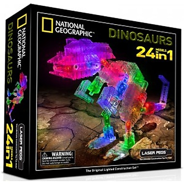 The Laser Pegs® 24-in-1 National Geographic Building Kits