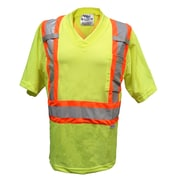 Viking Mesh Safety T-Shirt, Fluorescent Green