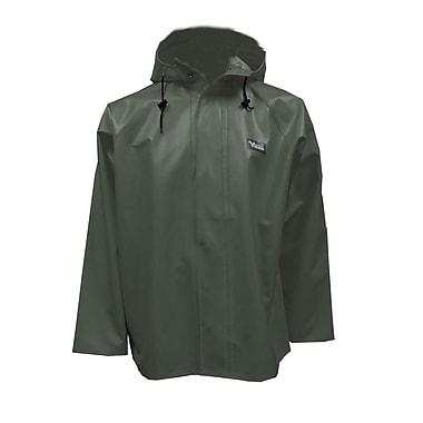 Viking Journeyman PVC Hooded Rain Jacket, Green