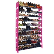 "Studio 707 50 Pair Shoe Rack, 36"" W x 61"" H,"