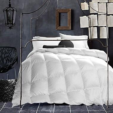 Adrien Lewis – Couette de coton T200 bourrée de laine, blanc