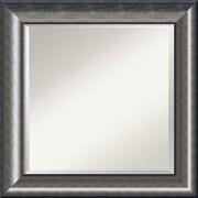 Amanti Art ? Miroir mural Quicksilver, argenté