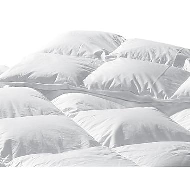 Highland Feathers – Couette standard 233 fils en duvet d'oie blanche, gonflement 650
