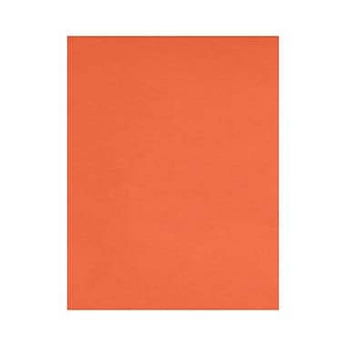 LUX 8 1/2 x 11 Cardstock, Bright Orange