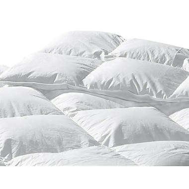 Highland Feathers – Couette standard super 289 fils en duvet blanc, gonflement 625