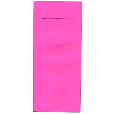 JAM PaperMD – Enveloppes-pochettes de couleurs vives no 10 (4,13 x 9,5 po), 500/paquet