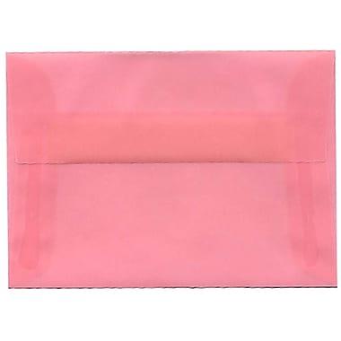 JAM Paper – Enveloppes translucides A1, 250/paquet