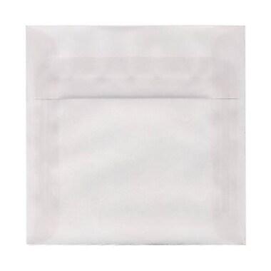 JAM Paper – Enveloppes en papier translucide, 6,5 x 6,5 po, 250/paquet