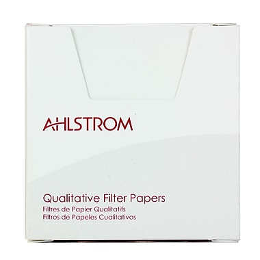 Ahlstrom Filtration LLC Grade 631 Filter Paper, 100/Pack