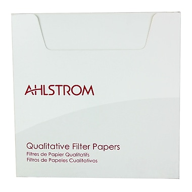Ahlstrom Filtration LLC Grade 505 Filter Paper, 100/Pack