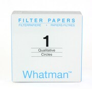 Whatman GE Healthcare Biosciences Grade 1 Filter Paper, 100/Pack