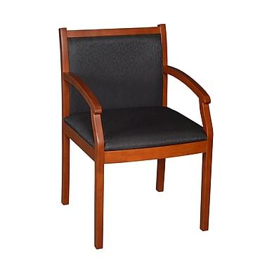 Regency Square Laminate Table & 4 Restaurant Stack Chairs, Black, TKB4848BE29