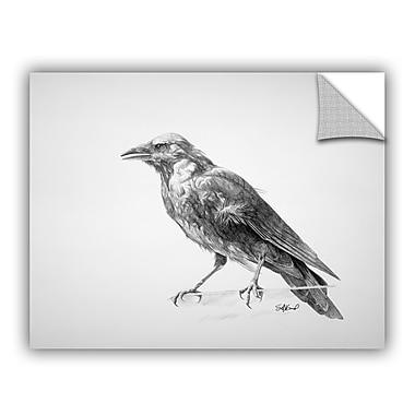 ArtWall 'Crow Drawing' Wall Art