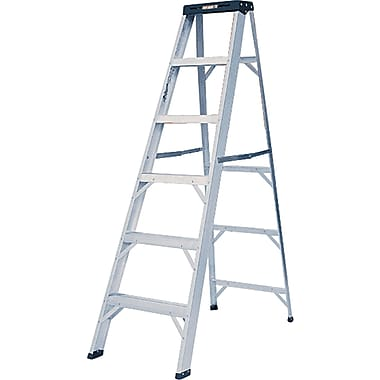Featherlite Commercial Duty Aluminum Stepladders (2400 Series)