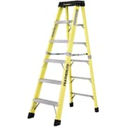 Featherlite Industrial Duty Fibreglass Stepladders (6300 Series)