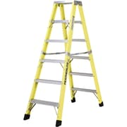Featherlite Industrial Heavy-Duty Fibreglass 2-Way Stepladders (6600 Series)