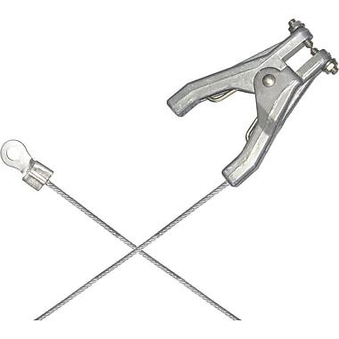 Lind Equipment – Pinces robustes pour métallisation et mise à la terre avec connecteur à sertir de 1/4 po