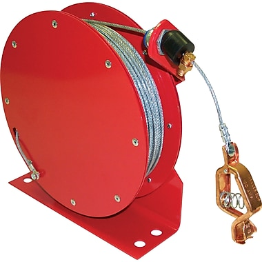 Lind Equipment Retractable Grounding Wires, Heavy-Duty Open Style