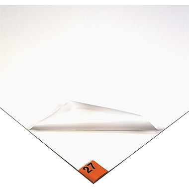 Wearwell Clean Room Mat No. 095, 30 Layers, White