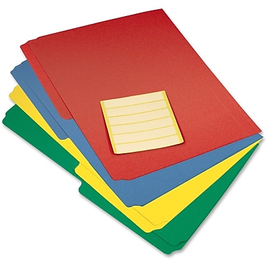 VLB Marketing Extra-Capacity Poly File Folders, Assorted Colours, 12/Pack