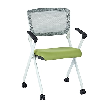Space Seating Pulsar Polyester & Metal Folding Chair with Screen Back