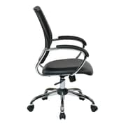 Work Smart Designer Screen Back Managers Metal & Mesh Chair