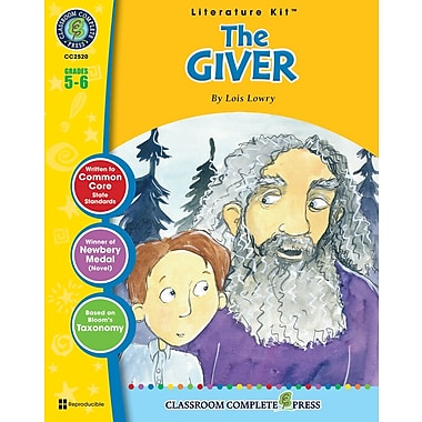 The Giver Literature Kit, Grade 5-6, ISBN 978-1-55319-558-0