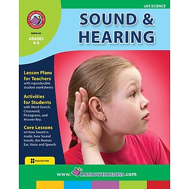 Sound And Hearing, Grades 4-6, ISBN 978-1-55319-120-9