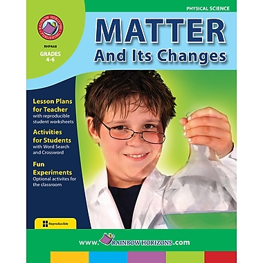 Matter And Its Changes, Grades 4-6, ISBN 978-1-55319-003-5