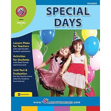 Special Days, Grade 1, ISBN 978-1-55319-134-6