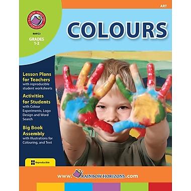 Colours, 1re et 2e années, ISBN 978-1-55319-214-5