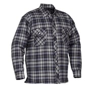 Forcefield Quilted Flannel Shirts, Blue