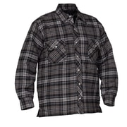 Forcefield Quilted Flannel Shirts, Grey