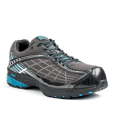 Kodiak Michael Men's Athletic Safety Shoe, Black, Silver and Blue