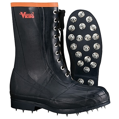 Forester Spiked Forester Caulked Sole Boot (Soft Toe)