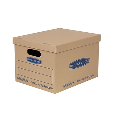 Bankers Box® Smoothmove Classic Moving Boxes, Small