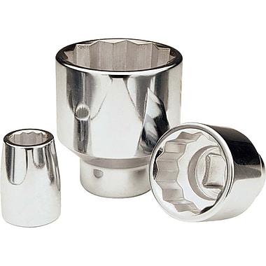 Gray Tools 24mm-60mm12 Point Standard Length, Chrome Finish Sockets