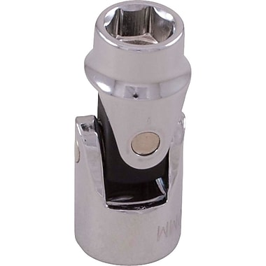 Gray Tools 6 Point Universal Joint Sockets, Chrome Finish