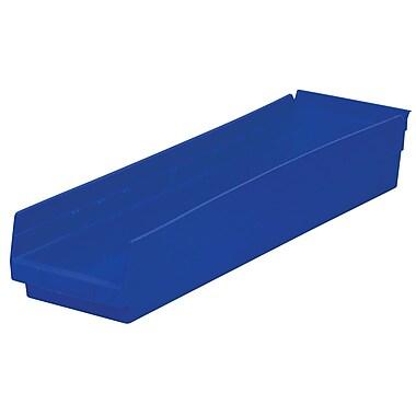 Akro-Mils Shelf Bins,23-5/8 x 6-5/8 x 4