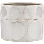 JAM Paper® – Sceaux autocollants ronds gaufrés, 2 grandeurs, avec bords dentelés, paq./200