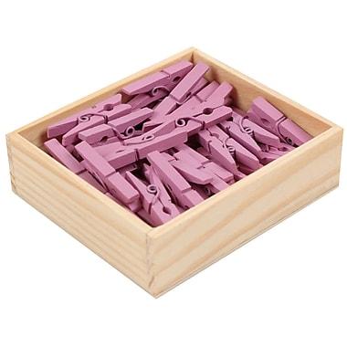 Jam PaperMD – Épingles à linge en bois de taille moyenne, 250/paquet