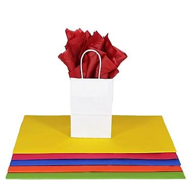 Nashville Wraps – Papier de soie de couleur 20 x 26 po, qualité MF n°1, 100 % recyclé, paq./48 feuilles